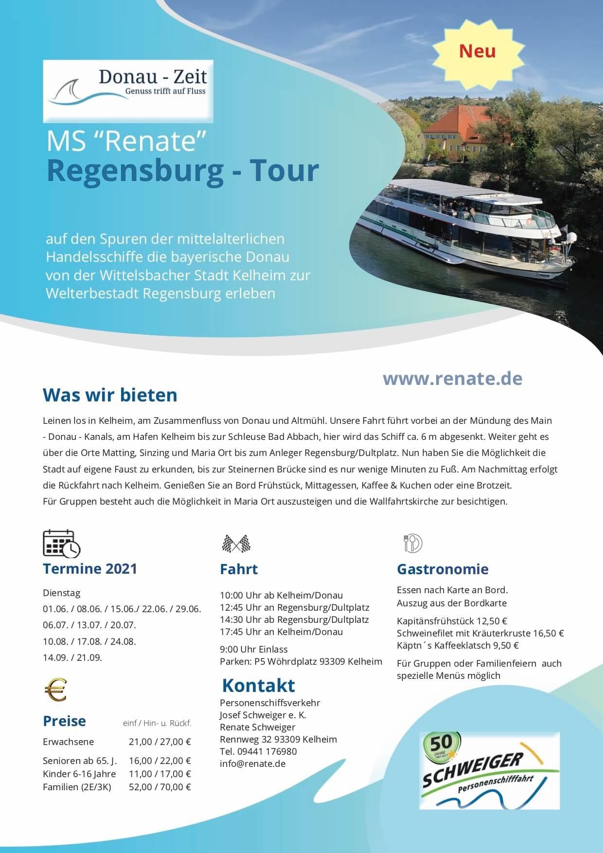 Feste Regensburg 2021